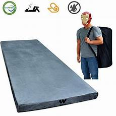 willpo certipur us memory foam cing mattress single 75