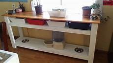 white kitchen console table diy projects