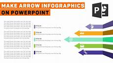 Infographic Arrow How To Make Arrow Infographics On Powerpoint Youtube