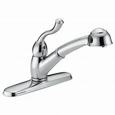 Delta Pull Kitchen Faucet Single Handle Pull Out Kitchen Faucet 473 Dst Delta Faucet