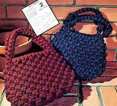 macrame purses pattern book 14 purse designs by kenyonbooks