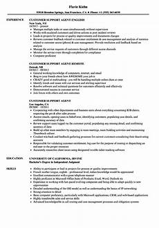 Customer Service Agent Resume Resume Feedback Service Job Winning Resume Writing Services