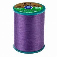 coats dual duty thread tweed coats dual duty plus violet quilting thread 250