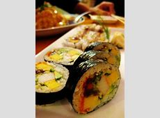 Futomaki  A thick roll containing multiple ingredients