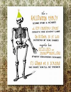 Free Printable Halloween Party Invitations For Adults Printable Spooky Halloween Party Invitation