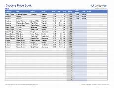Grocery List Prices Calculator Grocery List Cost Estimator Grocery List Template