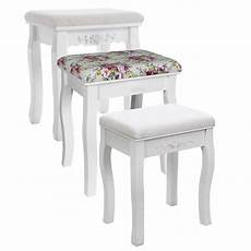 songmics vintage padded dressing table stool piano chair