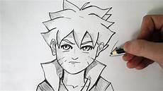 como desenhar o boruto uzumaki minha vers 195 o my version