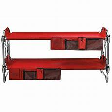 disc o bed youth kid o bunk benchable cing cot