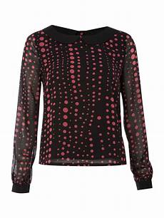 sleeve blouse for therapy womens spotted blouse