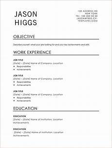 Free Traditional Resume Templates Traditional Jason Land The Job With This Free Cv Template