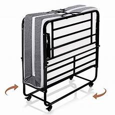 smile back foldable folding bed with mattress rollaway