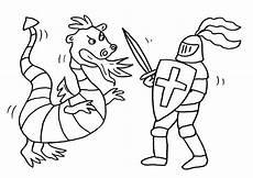 Malvorlagen Ritterburg Test Kostenlose Malvorlage Ritter Und Drachen Drache Und