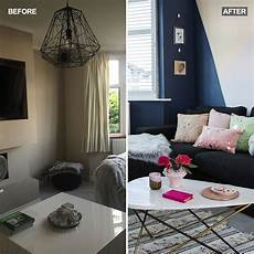 Room Makeover Before And After See How This Bland Living Room Has Been