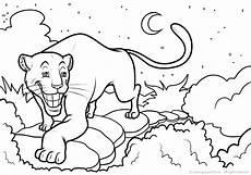 ausmalbild panther kopf kinder ausmalbilder