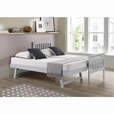 oxford single guest bed in light grey trundle bed