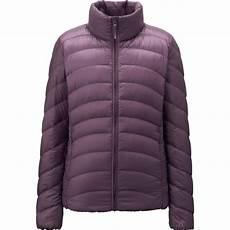 Uniqlo Ultra Light Down Uniqlo Women Ultra Light Down Jacket In Purple Lyst
