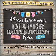 Raffle Ticket Signs Diaper Raffle Ticket Sign Amp Cards Baby Shower Raffle