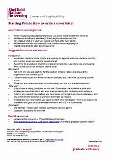 Graduate Covering Letter Examples Cover Letters Careers Connect