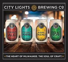 City Lights Coconut Porter City Lights Brewing Company Launches Distribution In