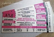 Concert Ticket Invitation Template Free Wedding Event Ticket Template Printable Wedding Concert