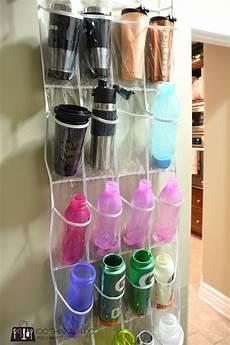 the 25 best water bottle storage ideas on