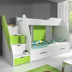 boys cabin bunk bed with integrated drawers beds