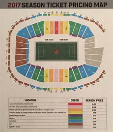 Seating Chart Mercedes Benz Atlanta United 2017 Atlanta United Mercedes Benz Stadium Pricing