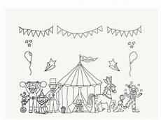 ideen zum thema zirkus laden sie hier unsere malvorlagen