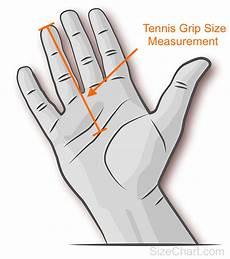 Prince Tennis Racquet Grip Size Chart Tennis Grip Size