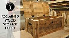 Large Chest Designs Build A Storage Chest From Reclaimed Wood Youtube