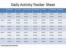 Track Daily Activities Daily Activity Tracker Sheet Sample Live Happy Live