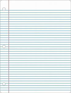 College Rule Notebook Paper Notebook Paper Pdf Template Business