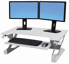 computer keyboard laptop sit stand desk workstation