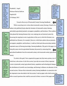 How To Write A Mla Style Research Paper Mla Sample Paper From Owl Purdue English Education