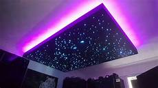 Light That Makes Stars On Ceiling Floating Fibre Optic And Led Starlight Ceiling Youtube