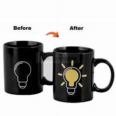 Light Bulb Mug 17 99 Light Bulb Heat Change Mug Tinkersphere