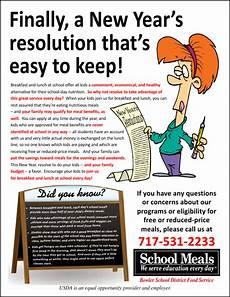 Reminder Flyer John Bennett Creative Services For Child Nutrition