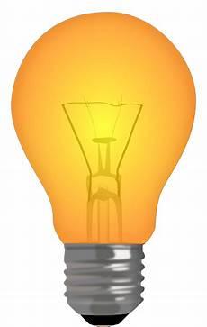 Orange Filament Light Bulb Free Vector Graphic Light Bulb Filament Lamp Orange