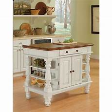 kitchen island with storage home styles americana white kitchen island with storage