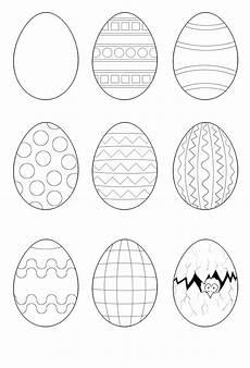 Malvorlagen Ostereier Osterei Malvorlagen Ostern Zeichnung Osterei Ausmalbild