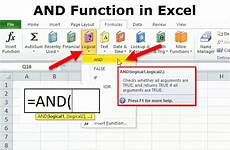 Create A Function In Excel And Function In Excel How To Use And Function In Excel