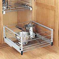 rev a shelf 5498 21cr bottom mount pull out basket wire