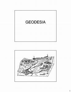 dispense topografia geodesia geoide ed ellissoide dispense