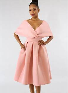 solid sleeve gown dresses fashion solid sleeve backless v neck midi