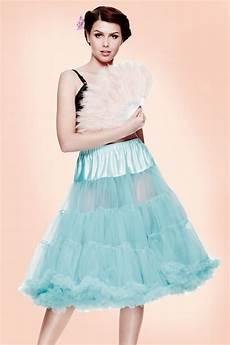 peti coats 50s retro petticoat chiffon turquoise