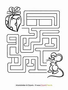 labyrinth vorlagen zum ausdrucken