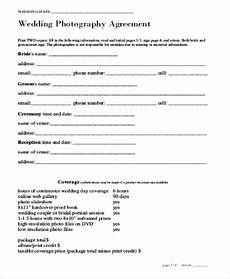 Contract For Photography Services Template Free 7 Sample Photography Services Contract Templates In