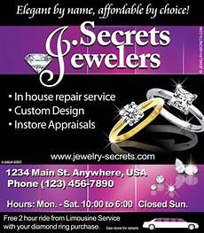 Sample Advertisements Jeweler S In House Repair Sample Advertisement Jewelry