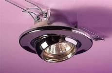 Halogen Light Clips 12v 35w Eyeball Downlight Chrome For 35mm Halogen Lamp